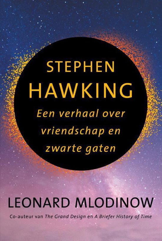 Boek over Stephen Hawking is uit